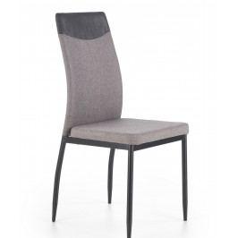 Jídelní židle K276 (svetlošedá)