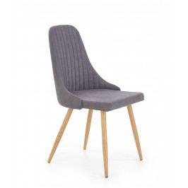 Jídelní židle K285 (tmavošedá)