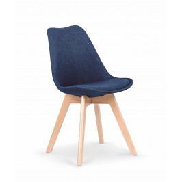 Jídelní židle K303 (modrá)