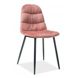 Jídelní židle Vedis (růžová)