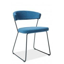 Jídelní židle Helix (modrá)