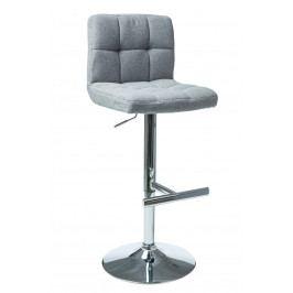 Barová židle C-105 (světle šedá)