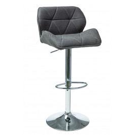 Barová židle C-122 (šedá)
