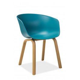 Jídelní židle Ego (tyrkysová)