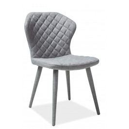 Jídelní židle Logan (šedá)