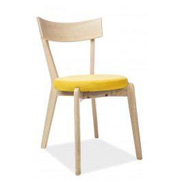 Jídelní židle Nelson (žlutá)