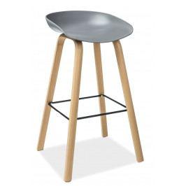Barová židle Sting (šedá)