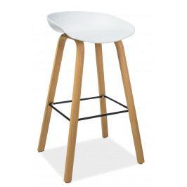 Barová židle Sting (bílá)