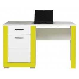 PC stolek - Bog Fran - Twin - TW 12 (akvamarín + bílá matná)