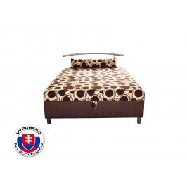 Manželská postel 140 cm - Benab - Elson 140 (s roštem, matracem a snímatelný polštářem)