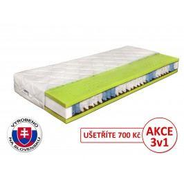 Taštičková matrace - Benab - Seven Zone Ergonomic - 200x80 cm (T3/T4)