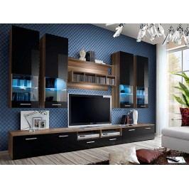 Obývací stěna - ASM - Dorade - 20 NSS DO (s osvětlením)