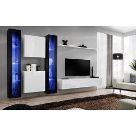 Obývací stěna - ASM - Switch XVI - 26 ZW SW 16 (s osvětlením)