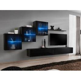 Obývací stěna - ASM - Switch XX - 26 ZZ SW 20 (s osvětlením)