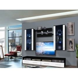 Obývací stěna - ASM - Clevo - 25 ZW CL G2 (s osvětlením)