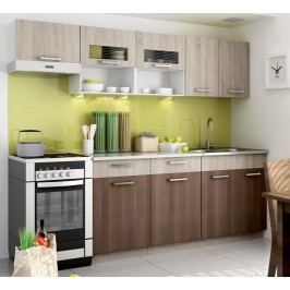 Kuchyně - Casarredo - Moreno II 240 cm (sonoma)