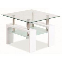 Konferenční stolek - Casarredo - LISA D BASIC Bílá