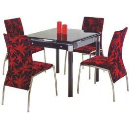 Jídelní stůl - - Kent černá (pro 4 osoby)