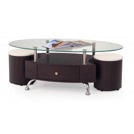 Konferenční stolek - - Stella (s taburetkami)