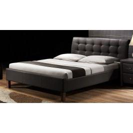 Manželská postel 160 cm - - Samara (s roštem)