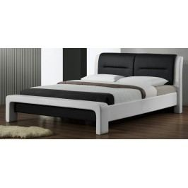 Manželská postel 160 cm - - Cassandra (s roštem)