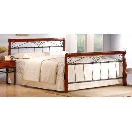 Manželská postel 180 cm - - Veronica 180 (s roštem)