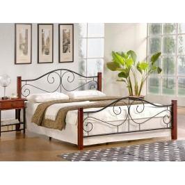 Manželská postel 160 cm - - Violetta (s roštem)