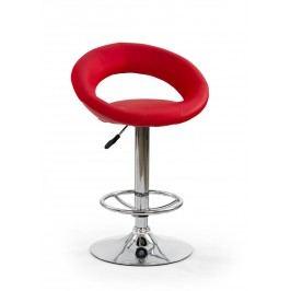 Barová židle - - H-15 červená