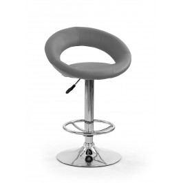 Barová židle - - H-15 šedá