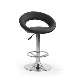 Barová židle - - H-15 černá