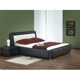 Manželská postel 160 cm - - SAMANTA P (s roštem a úložným prostorem)