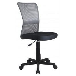 Dětská židle - - DINGO šedá + černá