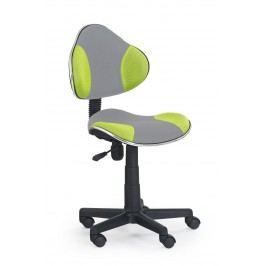 Dětská židle - - FLASH 2 šedá + zelená
