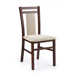Jídelní židle - - HUBERT 8 Ořech tmavý