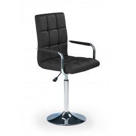 Barová židle - - Gonzo černá