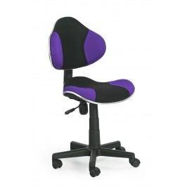Dětská židle - - Flash černá + fialová