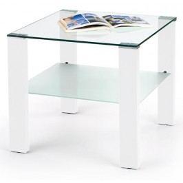 Konferenční stolek - - Simple H kwadrat bílý