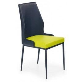 Jídelní židle - - K199 černo-limetková