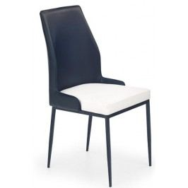 Jídelní židle - - K199 černo-bílá