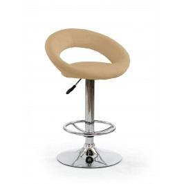 Barová židle - - H-15 (tmavě béžová)