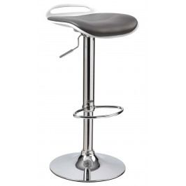 Barová židle - - H-60 (černá + bílá)