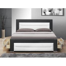 Manželská postel 160 cm - Nazuka (s roštem) *masážní přístroj ZDARMA