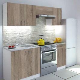 Kuchyně - Verka 180 cm Dub Sonoma Trufel