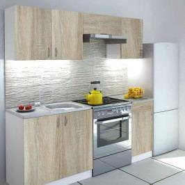 Kuchyně - Verka 180 cm Dub Sonoma