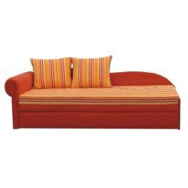 Pohovka - Aga D BA14 oranžová (L)