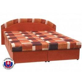 Manželská postel 180 cm - Mitru - Kasvo (s molitanovou matrací)