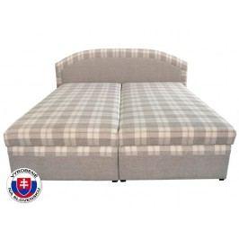 Manželská postel 180 cm - Mitru - Lucia (s molitanovou matrací)