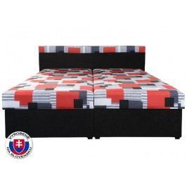 Manželská postel 160 cm - Mitru - Carmen (se sendvičovou matrací)