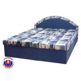 Manželská postel 160 cm - Mitru - Edo 7 (s molitanovou matrací)