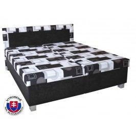 Manželská postel 180 cm - Mitru - Maja (se sendvičovou matrací)